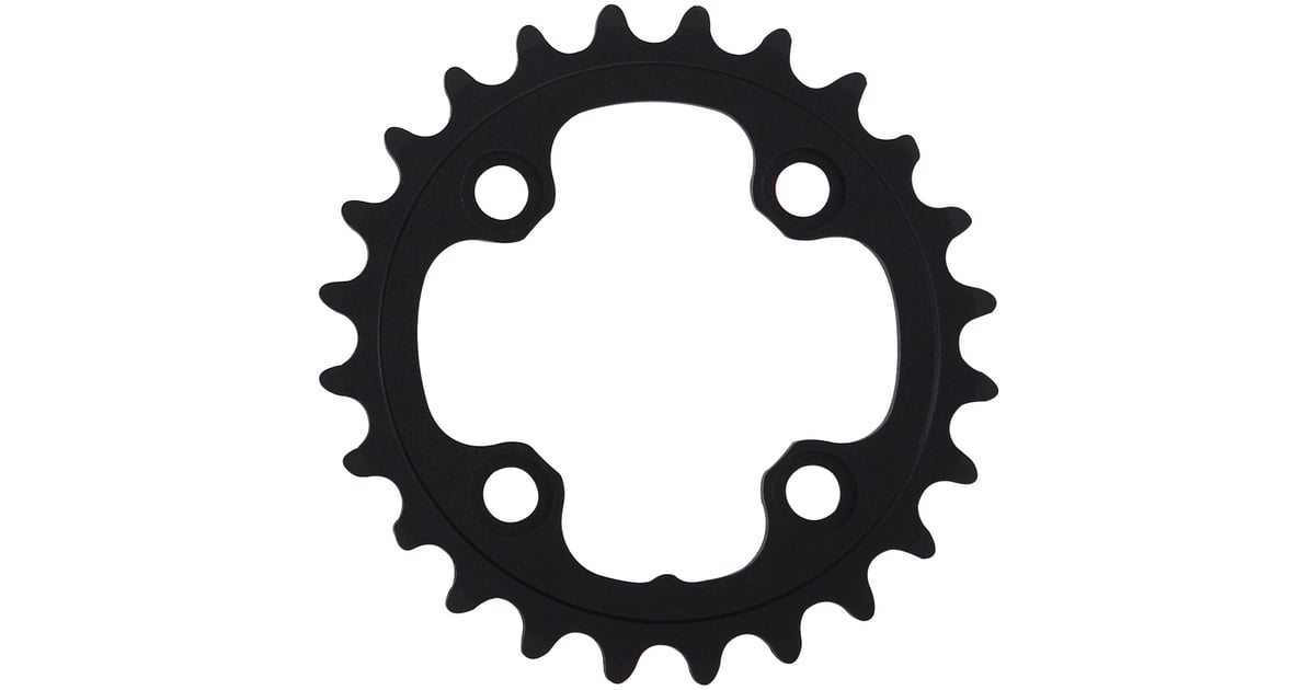 Mtb Crankset Aerozine Chainring With 64mm Bcd & Cnc-machining For Inner