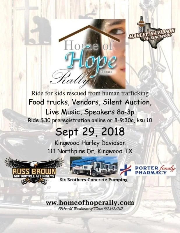 Event Flyer - Home of Hope Rally 2018 - event flyer