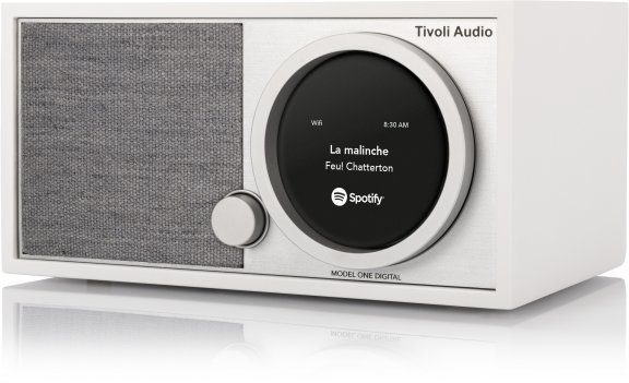 Tivoli Audio One Hinta Tivoli Audio Model One Digital ‐pöytäradio, Valkoinen