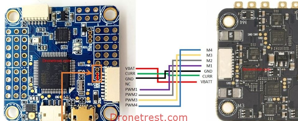 How To Connect Quadcopter Motors and ESC \u2013 DroneTrest Blog