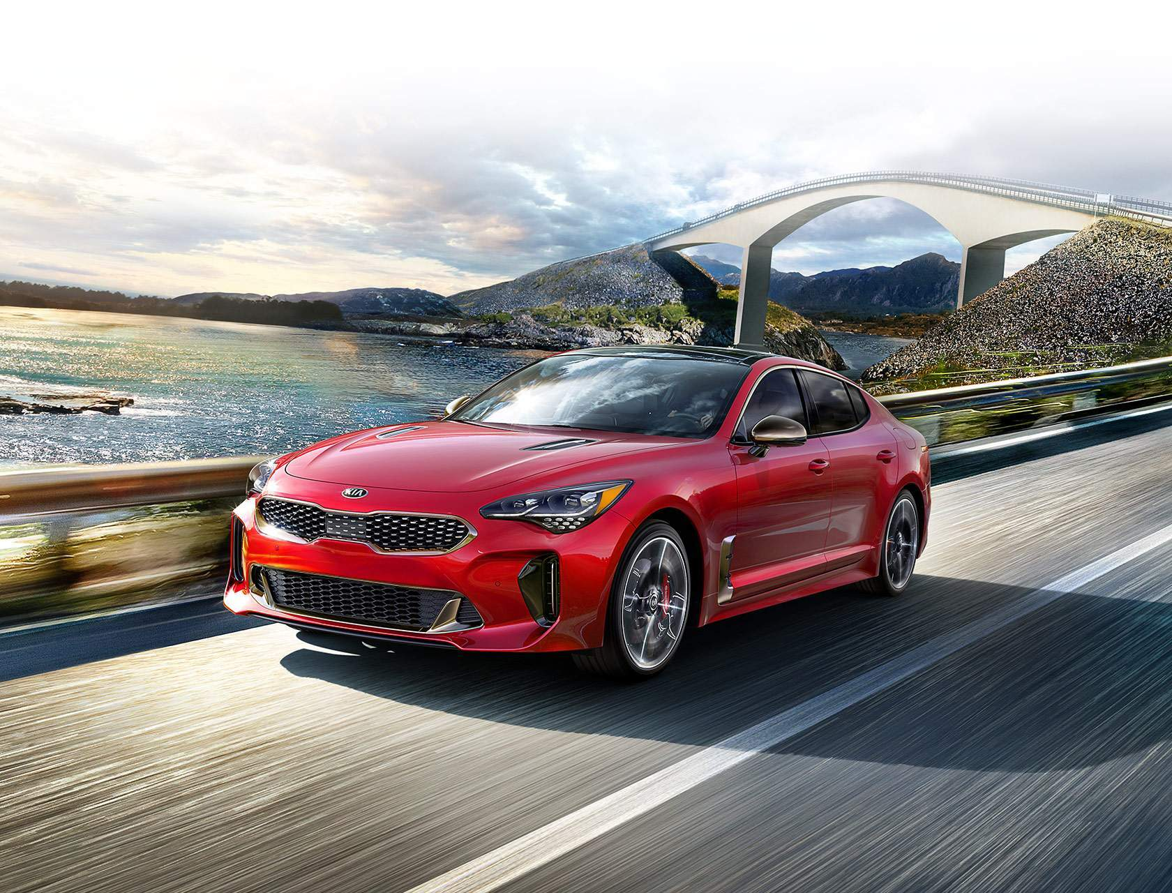 Eastern Shore Kia 2018 Kia Stinger In Daphne Al