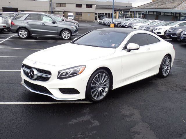 2016 Mercedes-Benz S 550 4MATIC® Coupe Salem OR 19715716