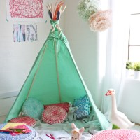 dcoration tipi pour chambre d'enfant - Elle Dcoration