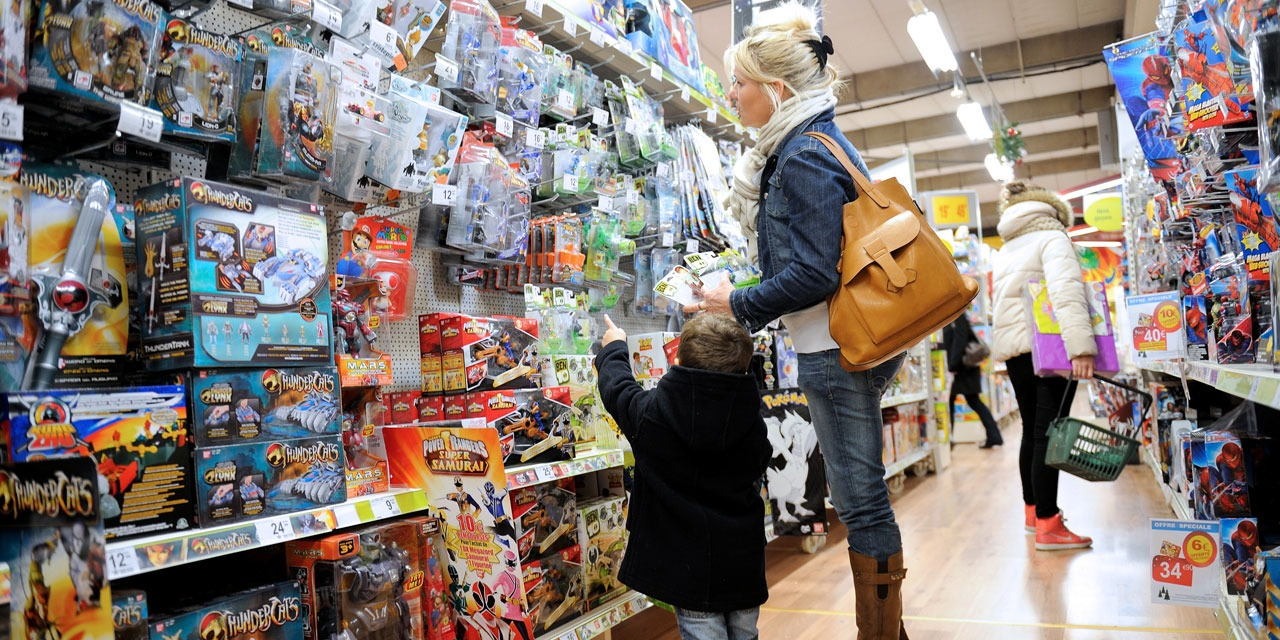 Acheter Store Christmas It S Better To Buy Toys In Supermarkets Than On The