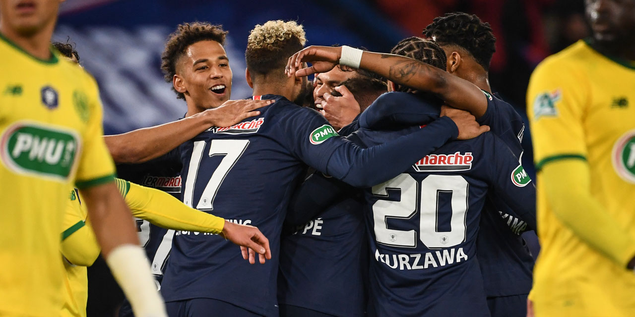 Lyon Nantes Coupe De France Psg Beat Nantes 3 And Will Find Rennes In The
