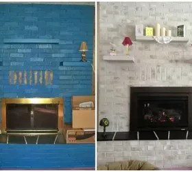 Our Transformed Fireplace Before After Hometalk