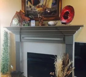 What To Put On Fireplace Mantel Looking For Ideas For My Old Fireplace | Hometalk