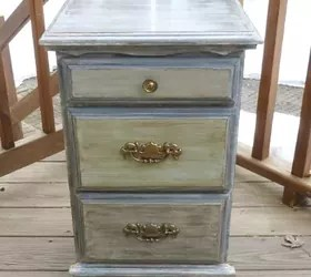 How To Use Chalkpaint On An Old Laminated Nightstand | Hometalk