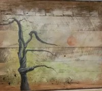 Wall Art on Barn Wood Siding | Hometalk
