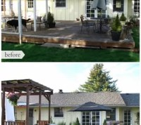 DIY Backyard Makeover Before and After | Hometalk