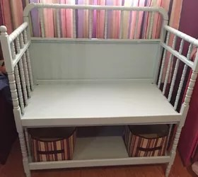 Lowes Charleston Wv Changing Table To Bench | Hometalk
