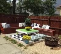 DIY Budget Backyard and Deck Makeover   Hometalk