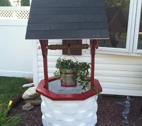 How to Make a Wooden Garden Wishing Well Hometalk