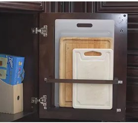 What Is The Height Of A Kitchen Cabinet Diy Vertical Behind The Cabinet Door Cutting Board Holder