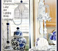 Upcycled, Repurposed Lamp and Lighting Ideas | Hometalk