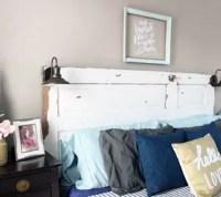 DIY Vintage Door Headboard   Hometalk