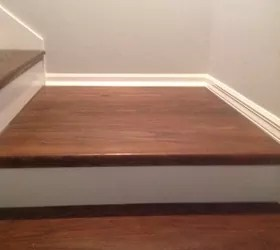 Slippery Wood Stairs From Carpet To Wood Stairs Redo - Cheater Version