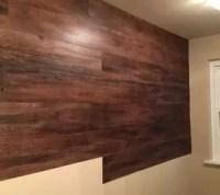 Faux Wood Wall | Hometalk
