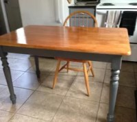 Cabin Kitchen Table & Chairs Refinish | Hometalk
