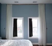 Let's Make: A Giant Floor to Ceiling Curtain! | Hometalk