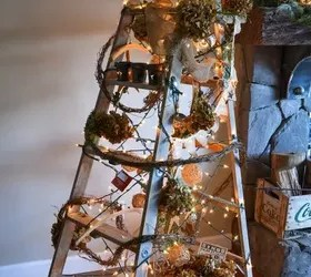 A Treeless Ladder Christmas Tree Hometalk