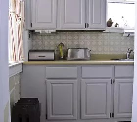 How To Make Your Kitchen Cabinets Look Built In Using