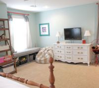 Teenage Girl's Artsy Bedroom Makeover | Hometalk