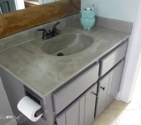 11 Low Cost Ways To Replace Or Redo A Hideous Bathroom Vanity Hometalk
