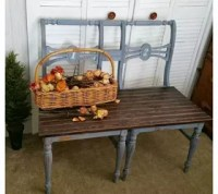 Upcycled Chair Benches | Hometalk