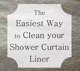 The Easiest Way To Clean Your Shower Curtain Liner Hometalk