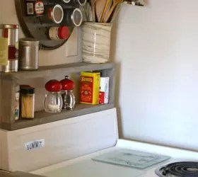 Floating Island Kitchen Cabinet 12 Space Saving Hacks For Your Tight Kitchen | Hometalk