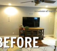 13 Low-Budget Ways to Decorate Your Living Room Walls ...