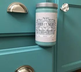 Can You Use Chalk Paint For Kitchen Cabinets Transformed My Cabinet In A Few Hours! | Hometalk