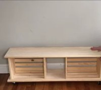 Easy Crate Bench on Wheels | Hometalk