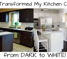 Cheap Sofas Under 100 How To Paint Your Kitchen Cabinets From Dark To White