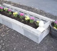 DIY Cinder Block Raised Garden Bed | Hometalk