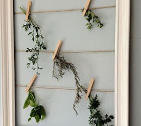 Herb Drying Frame Hometalk