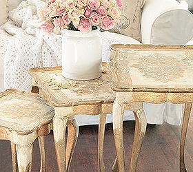 Thrift Store Vintage Florentine Tables Hometalk