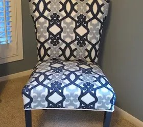How To Recover A Parsons Style Chair | Hometalk