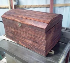 Wooden Box Made Out Of Scrap Wood Hometalk