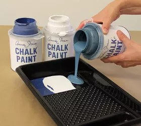 Easy Wall Stencil How-To: Use Chalk Paint® To Create A Fabric