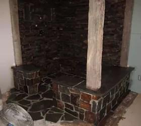 Rustic Stone Shower | Hometalk