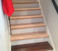 From Carpet to Wood Stairs Redo - Cheater Version ...