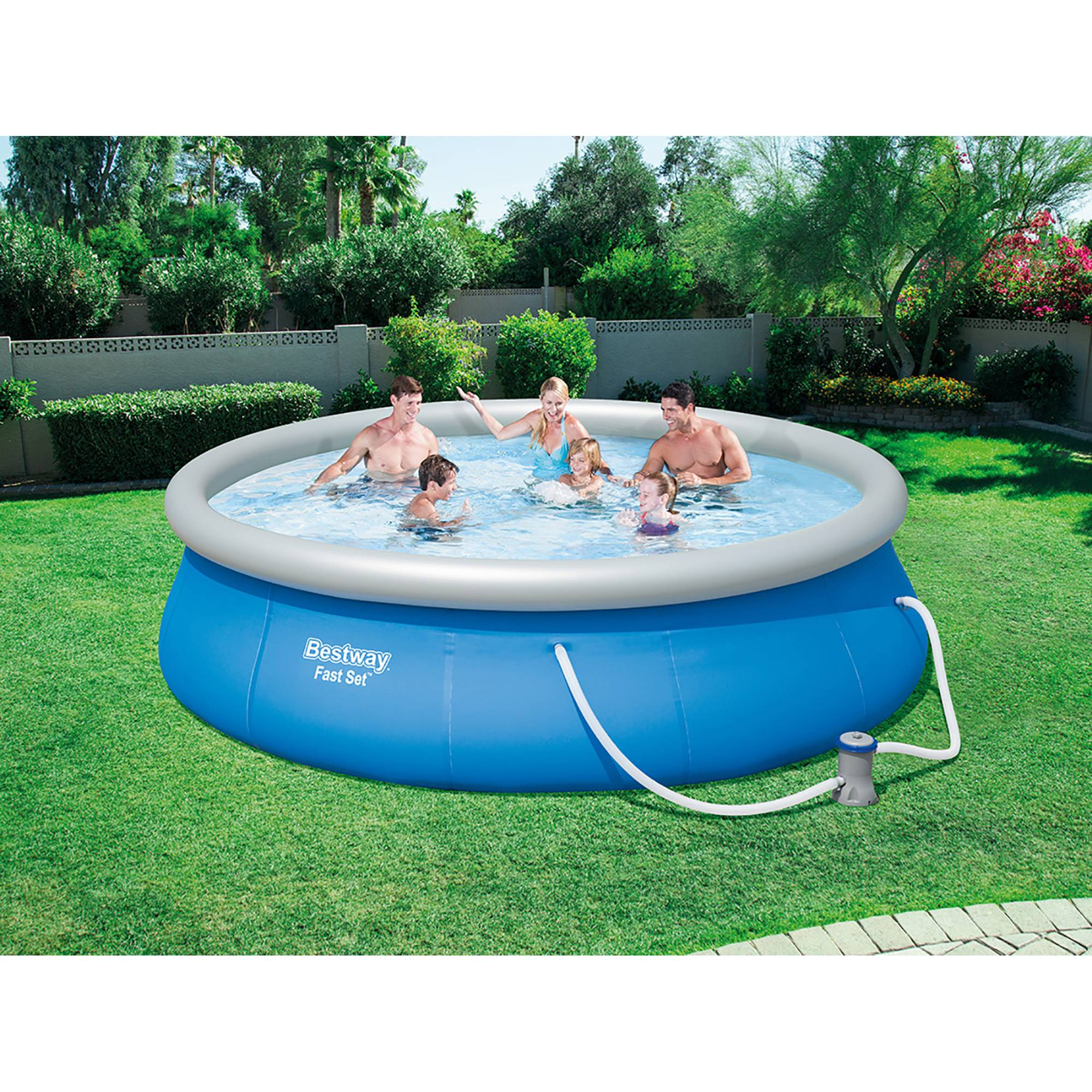Sandfilteranlage Quick Up Pool Quick Up Pool Set 396x84 Cm Mit Kartuschenfilteranlage Von