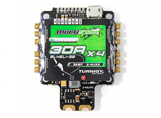 Turnigy MultiStar 30A BLHeli-32 4-in-1 Race Spec ESC w/ F4 FC, OSD