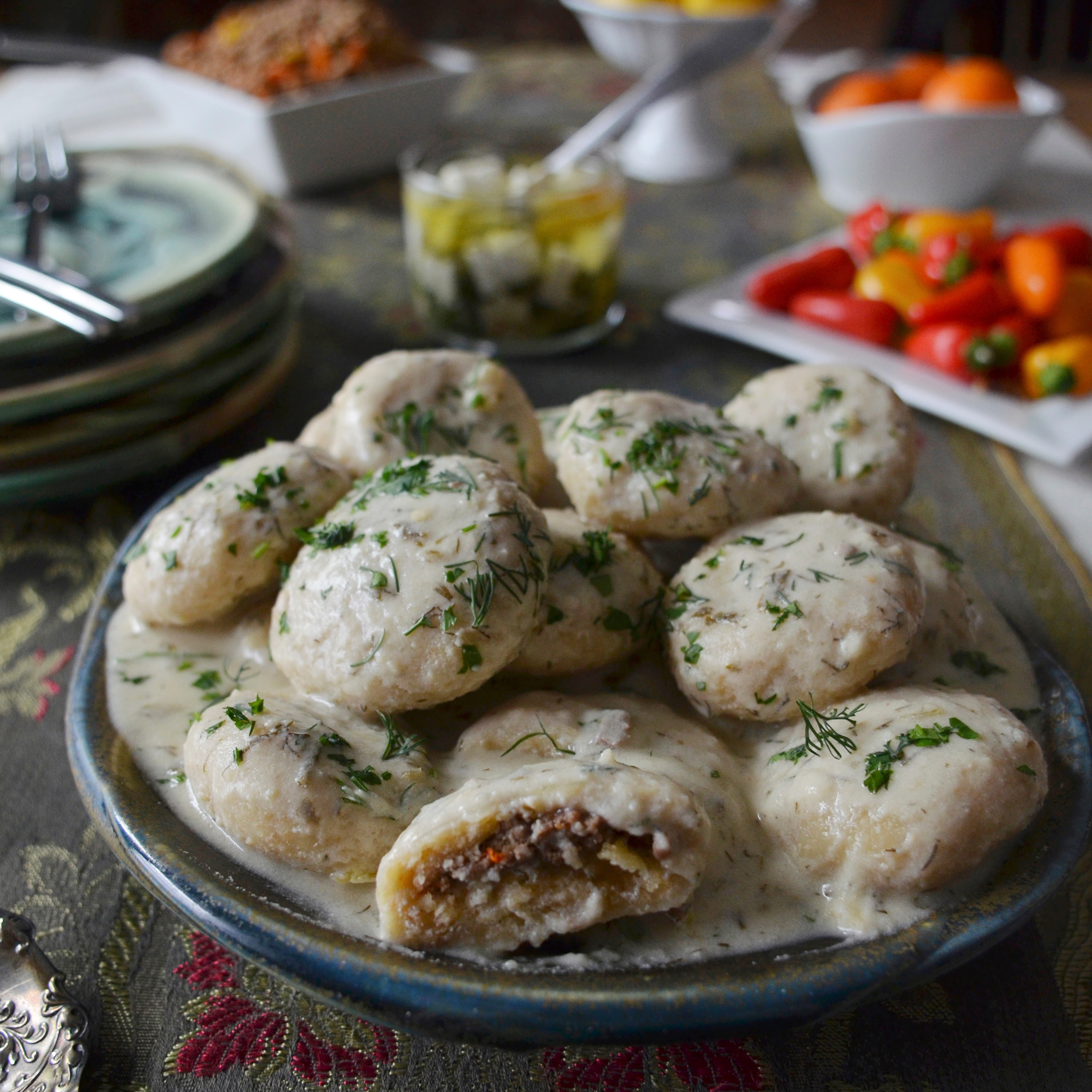 Cuisine Food In Kurdish Dumplings In Yogurt Recipe Andrew Zimmern Food