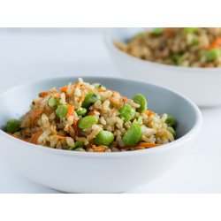 Small Crop Of Fried Brown Rice