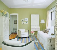 Trick a Small Space into Feeling Bigger | Living Room ...