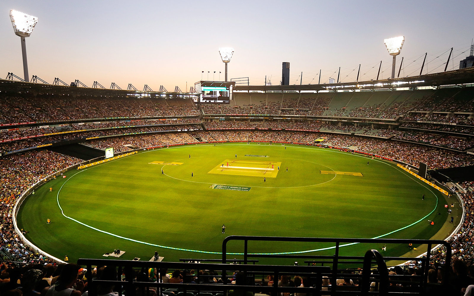 Neon Fall Wallpapers Melbourne Cricket Ground Travel Leisure