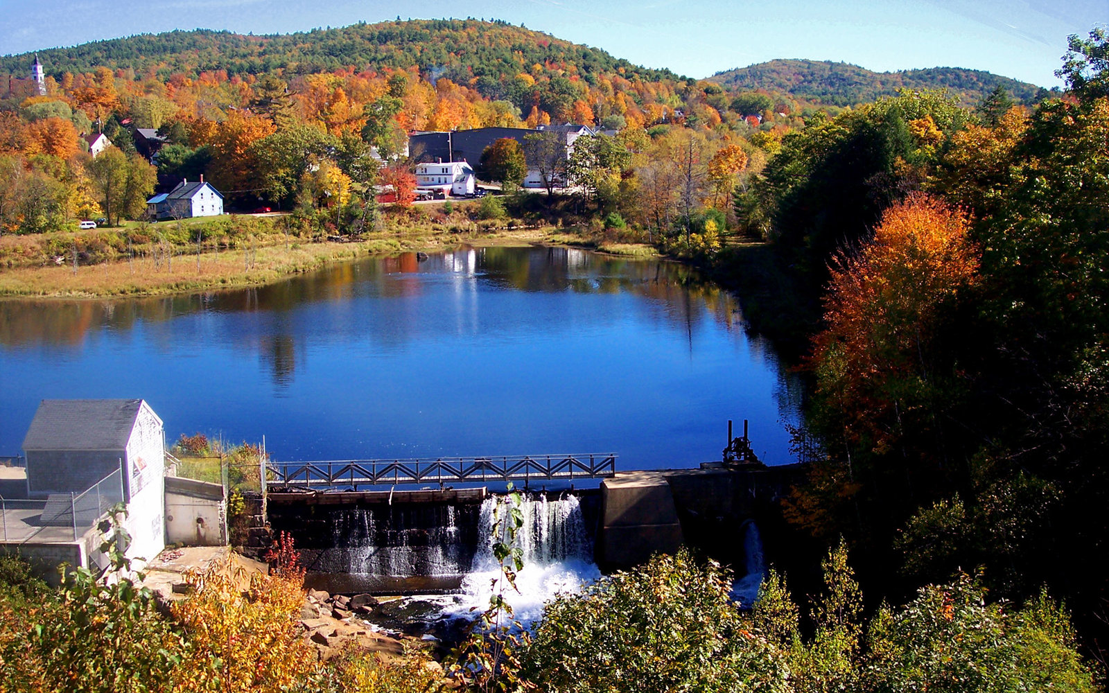 New England Fall Foliage Wallpaper The Best Places To See Fall Foliage In New Hampshire